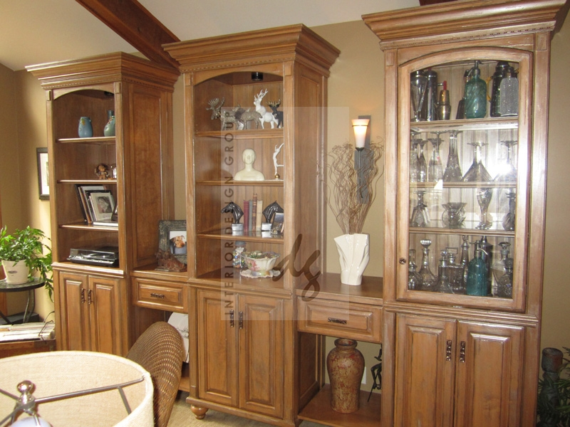 Mary P. Murphy - Custom Bookshelves